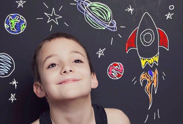 Creatividad, niño, cómo potenciar la creatividad en casa