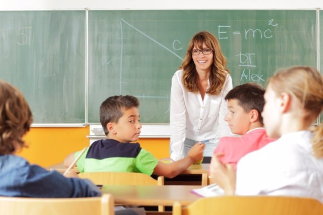 Los buenos profesores lo son desde el principio. Maestra, matemáticas