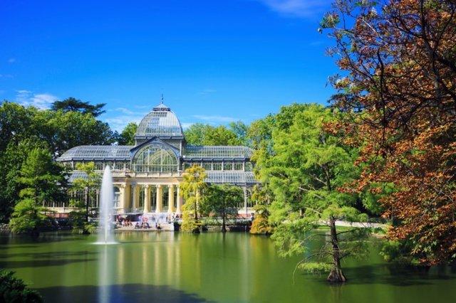 Madrid, Palacio de Cristal, Retiro
