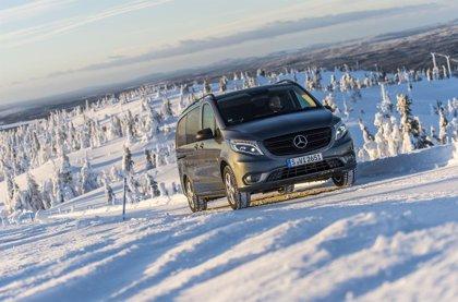 La nueva Vito 4x4 de Mercedes, más ligera y eficiente