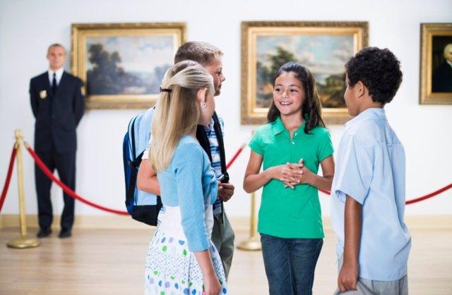 La cultura y el arte para los niños