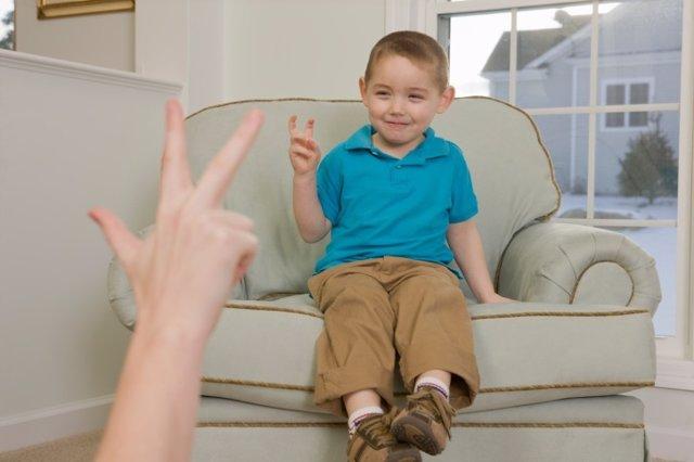 Las dificultades del habla en los niños.