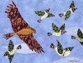 Las palomas y el gavilán. Fábulas para niños