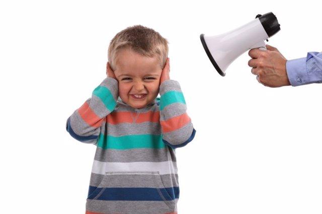 Gritar niño