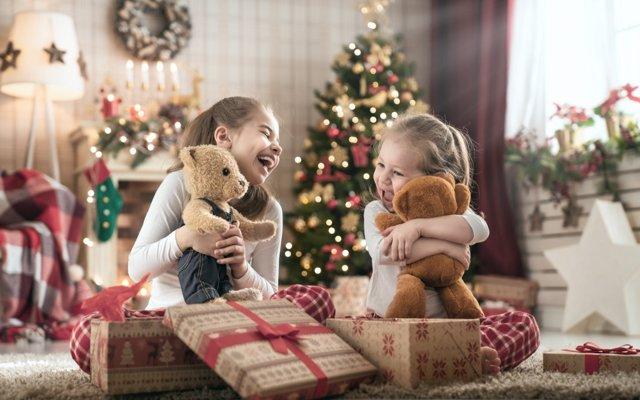 Juguetes estrella de Navidad