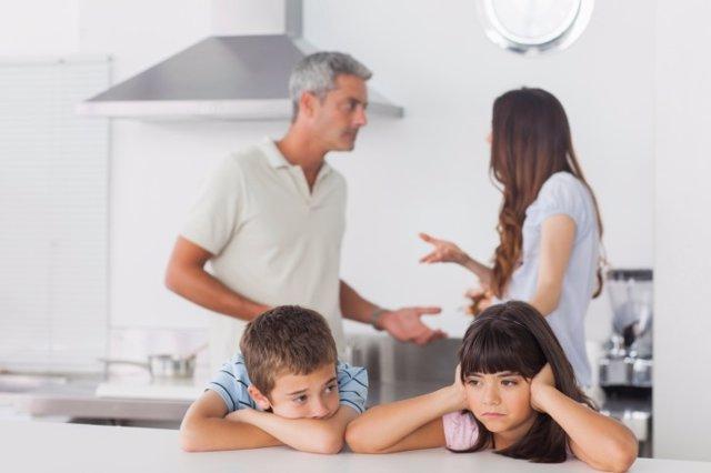 La violencia doméstica y los niños
