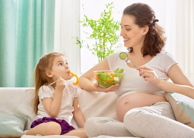 La nutrición en el embarazo