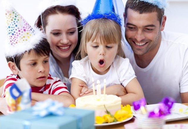 El sentido de las celebraciones familiares para los niños