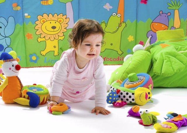 Cómo enseñar los coloress a tu bebé