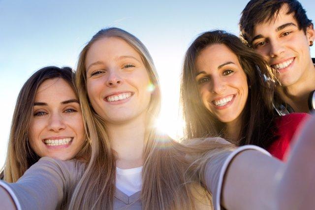 Los amigos en la adolescencia