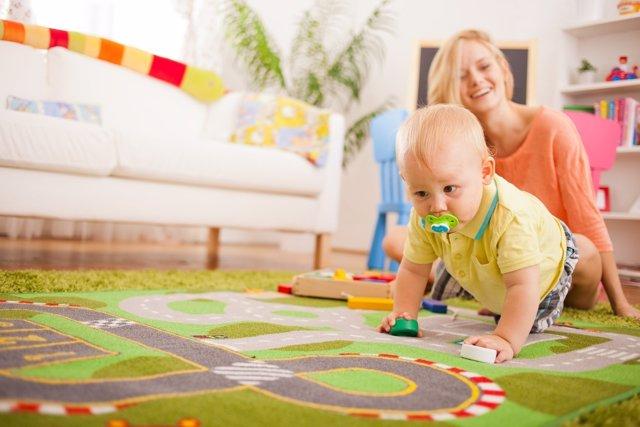 Ejercicios de estimulación para tu bebé