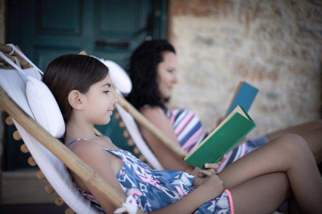 Lectura en verano