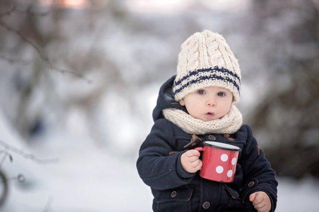 La alimentación del bebé en invierno