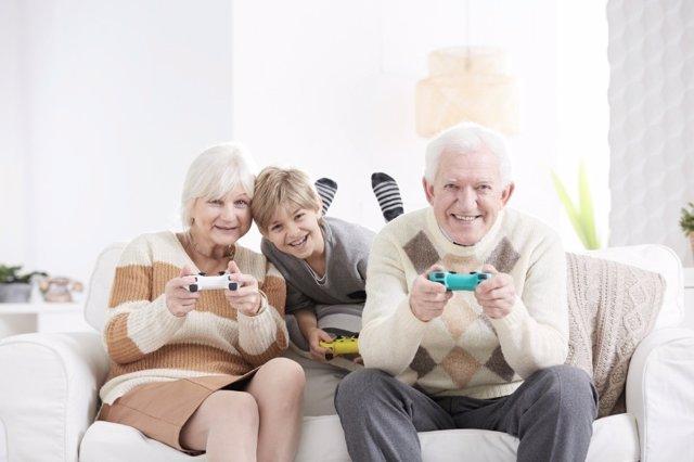 Los abuelos y los videojuegos