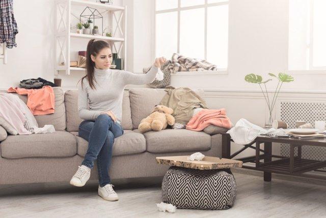 Una casa ordenada y organizada evita ansiedad, falta concentración y cansancio
