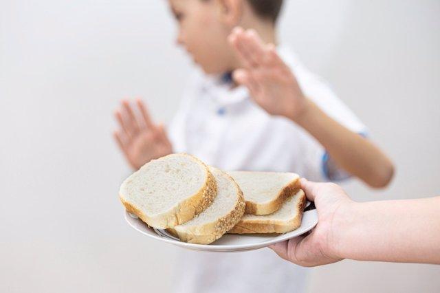 La enfermedad celiaca: cuando aflora a los 2 años