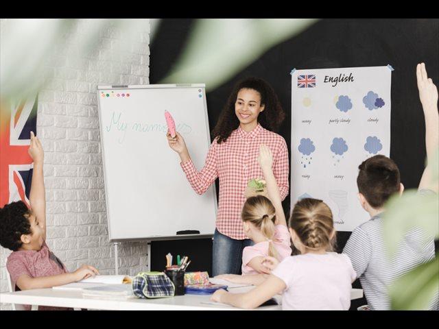Enseñar en inglés o educar en inglés