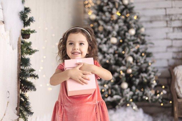 Regalos de Navidad envueltos en valores