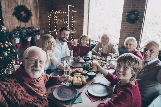 Una cena de Navidad en familia es mucho más que un reencuentro.
