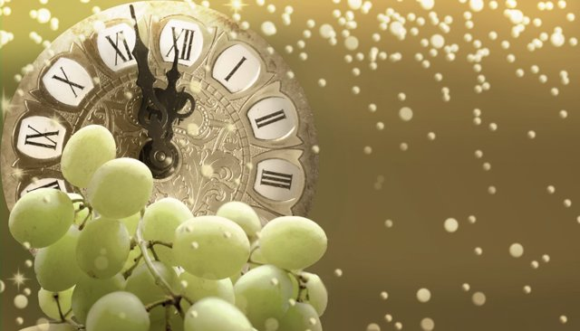 Uvas de Nochevieja: no te atragantes