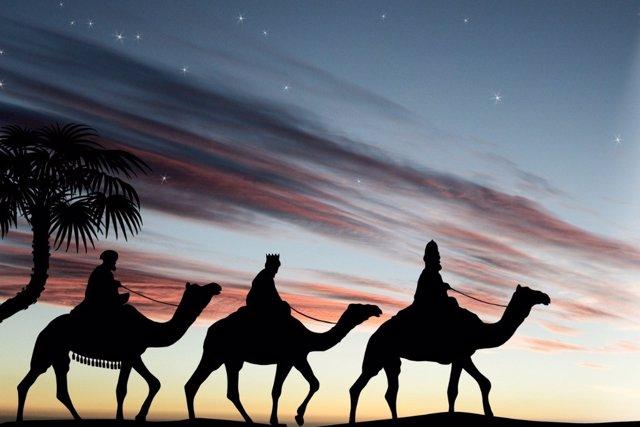 Ya vienen los Reyes Magos de Oriente