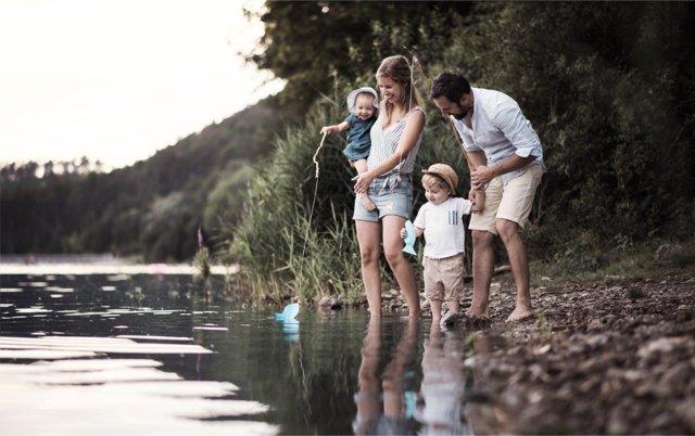 El ocio meadioambiental es una buena opción para disfrutar en familia.