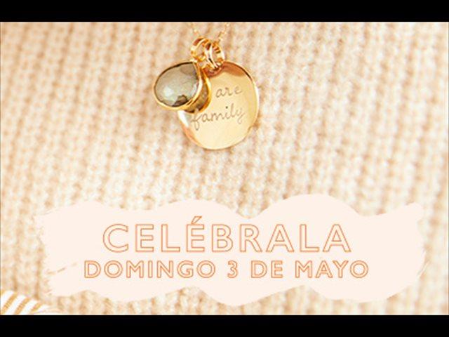 Celébrala con una joya personalizada en el Día de la madre