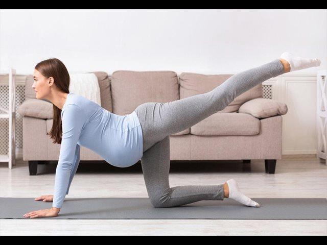 Salud física y mental en el embarazo: 5 ejercicios para hacer en casa