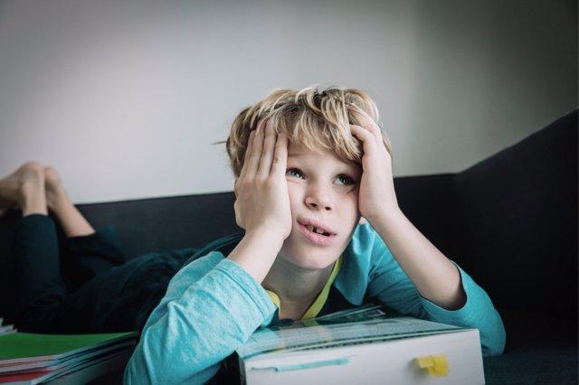 El confinamiento empieza a pasar factura en los más pequeños, generándoles ansiedad.