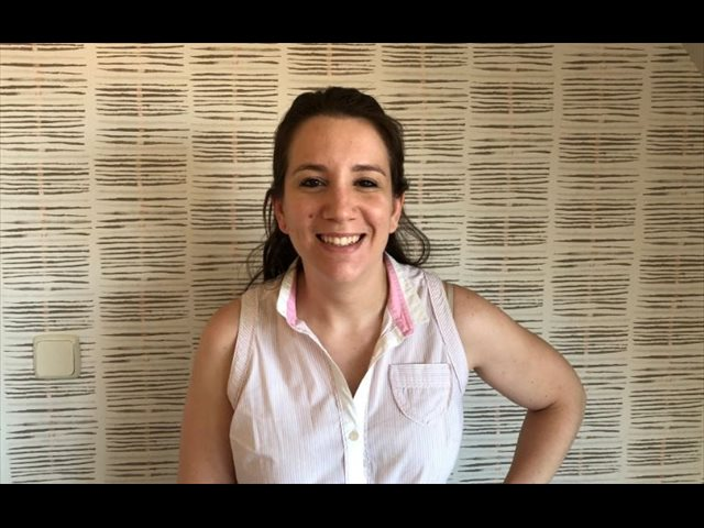 María Díaz: 'A los niños les recibirá una persona con un EPI completo y una profesora con mascarilla'