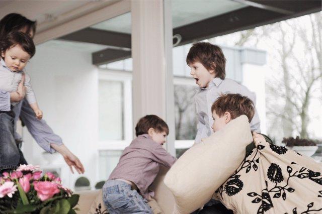 Las familias numerosas se han visto afectadas por la crisis del Covid-19 de diversas maneras.