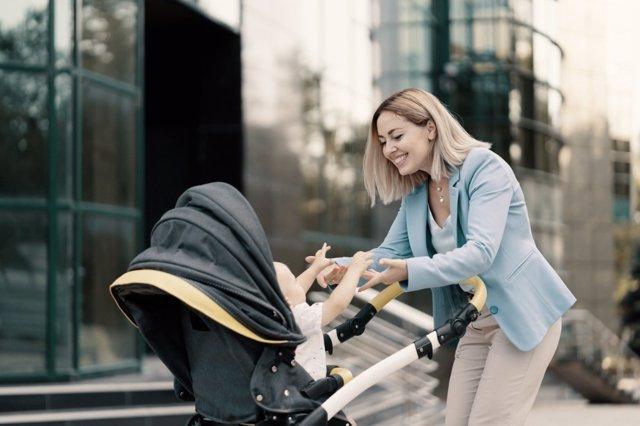 Salir de paseo con el bebé a pesar del coronavirus