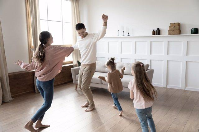 Ideas para hacer ejercicio con tus hijos