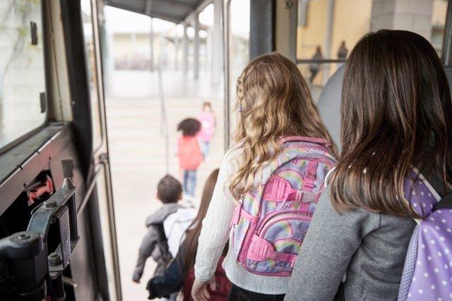 Medidas para evitar contagios en el transporte escolar