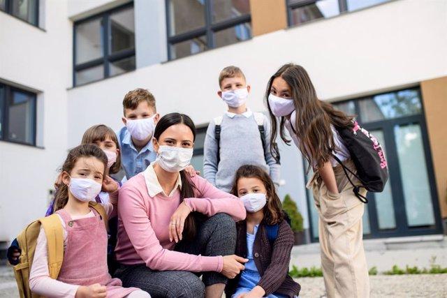 El funcionamiento de los grupos burbuja del colegio