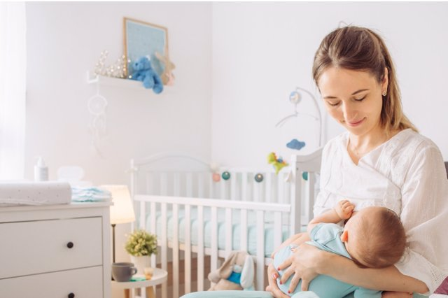 La lactancia materna es lo mejor para tu bebé