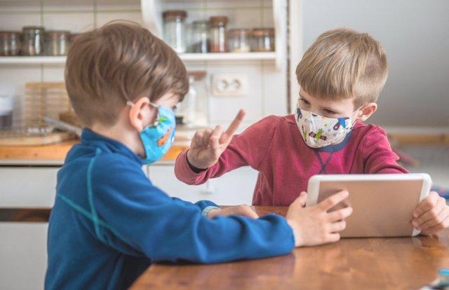 Juegos para que los niños interioricen las normas de seguridad en la pandemia