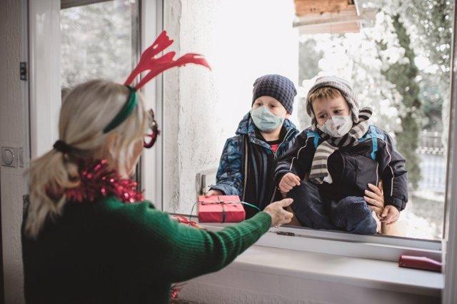La sociabilidad de los niños en Navidad