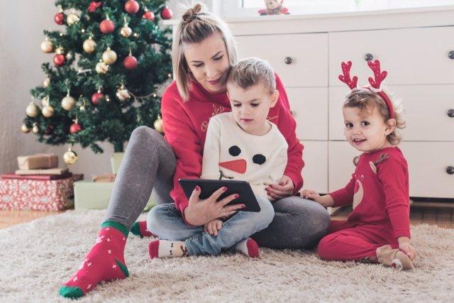 Ideas para disfrutar en casa de unas Navidades digitales