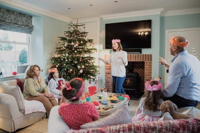 Ideas para compartir tiempo en familia esta Navidad
