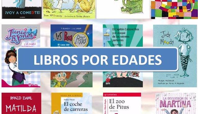 Guía de recomendaciones de libros por edades