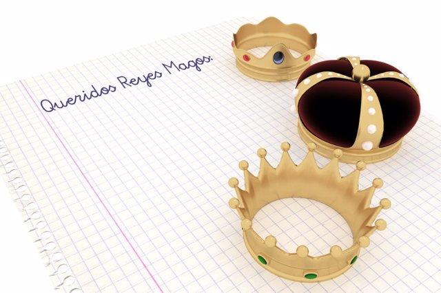 La carta a los reyes magos es una oportunidad de aprender a la vez que se exponen ilusiones.