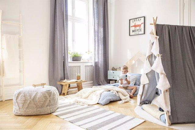 Ideas para adaptar el dormitorio a la edad de los niños