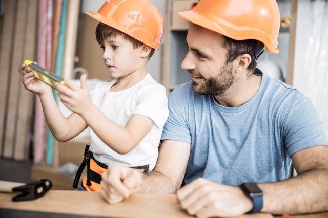 La tradición familiar en la profesión de los hijos