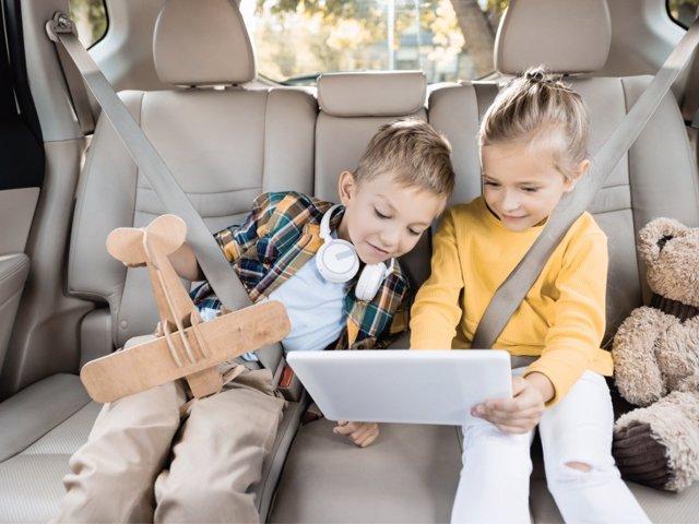 Las nuevas tecnologías son sinónimo de ocio para los más pequeños.
