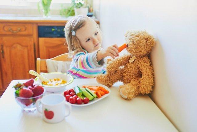 Pautas de alimentación para niños de 1 a 3 años