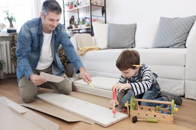Deja que tus hijos construyan su propio yo, con las herramientas que les proporciones