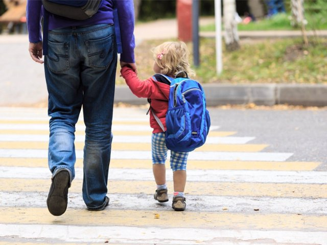 Ir andando al colegio es una gran idea en tiempos de pandemia.