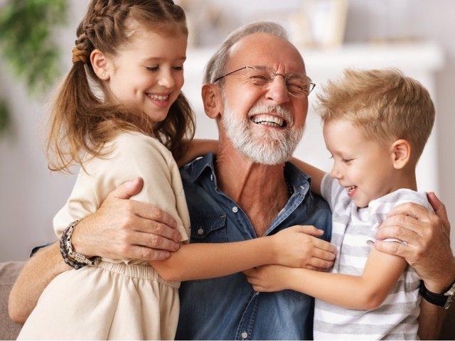 La disponibilidad es uno de los grandes valores de los abuelos
